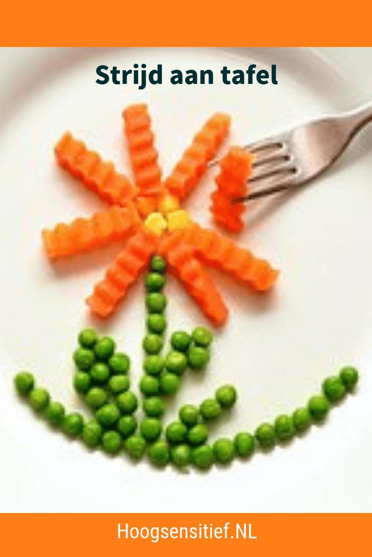 Strijd aan Tafel- Onderzoek naar hoogsensitieve kinderen en hun tafelmanieren en eetgedrag