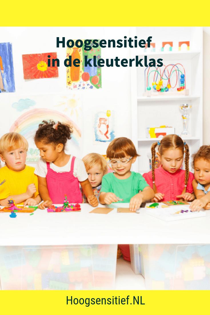 Blog Hoogsensitief.NL - Hoogsensitief in de kleuterklas + school + kinderen