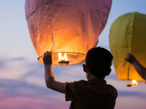 jongen-wensballon