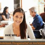 Onderzoek Hoogsensitief en werk(stress)