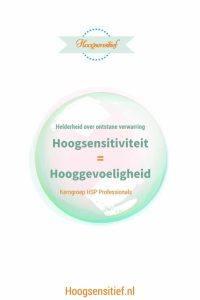 Onderzoek naar de overeenkomsten tussen hooggevoeligheid en hoogsensitivitiet (HSP)