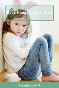 Boos Hoogsensitief Kind - Hooggevoelig - HSK - HSP