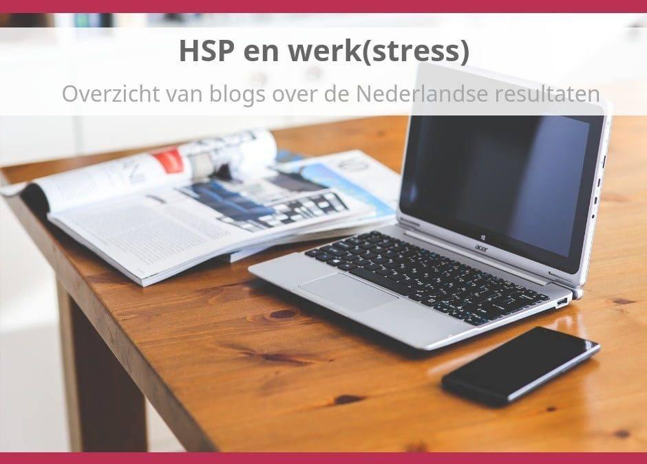 Onderzoek HSP en Werkstress in Nederland