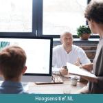 HSP in actie op de werkvloer