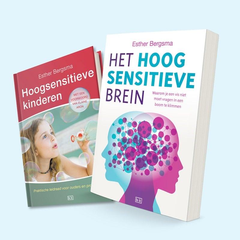 Boek Hoogsensitieve Kinderen + Boek Het Hoogsensitieve Brein
